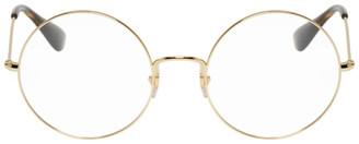 Ray-Ban Gold Ja-Jo Glasses