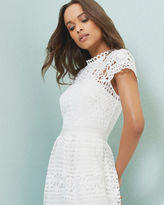Ted Baker Scalloped lace tulip dress