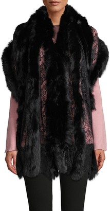 La Fiorentina Fox Fur Wrap
