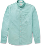 J.crew - Button-down Collar End-on-end Cotton Shirt