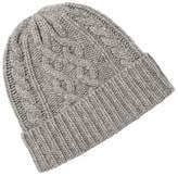 Saks Fifth Avenue Men's Cable Knit Wool Beanie