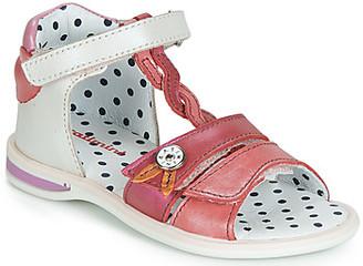 Catimini GOROKA girls's Sandals in White