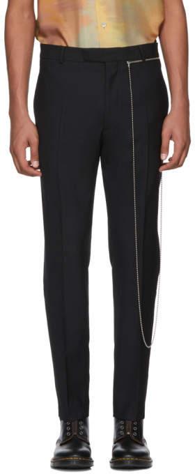 Cmmn Swdn Black Samson Tapered Trousers