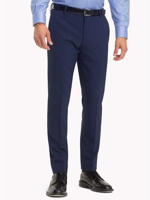 Tommy Hilfiger Virgin Wool Slim Fit Trousers