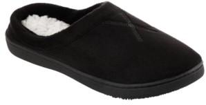 Isotoner Signature Isotoner Women's Microsuede Eden Comfort Hoodback Slippers