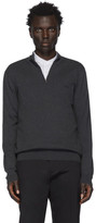 BOSS Grey Padro-L Pullover Sweater