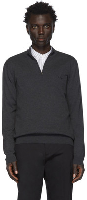 HUGO BOSS Grey Padro-L Pullover Sweater