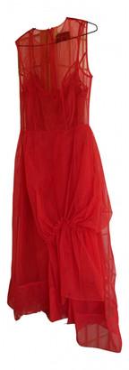Simone Rocha Red Synthetic Dresses