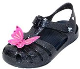 Crocs Butterfly Glittered Rubber Sandals