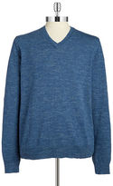 Lucky Brand V-Neck Cotton Sweater