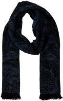 Versace Paisley Print Wool Scarf