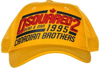 DSQUARED2 Embroidered Truck Cap