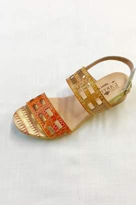 Spring Step Leather Sandal
