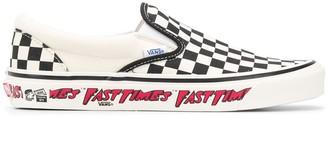 Vans 98 Slip-On Check Sneakers