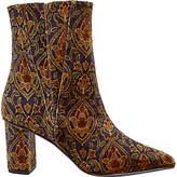 Jigsaw Neilson Heeled Ankle Boots, Multi