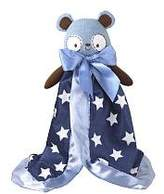 CoCalo Bear Plush Security Blanket