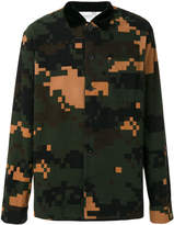 Sacai Camouflage Shirt