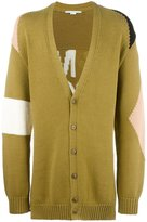 Stella McCartney Tomorrow cardigan - men - Cotton/Polyamide/Viscose/Wool - M