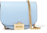 Victoria Beckham Nano Box Leather Shoulder Bag - Light blue