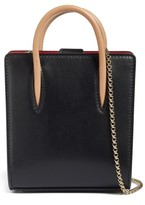 Christian Louboutin Nano Paloma Calfskin Leather Tote - Black