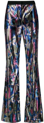 Emilio Pucci Sequin Flared Trousers