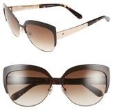 Kate Spade 'raelyn' 59mm Cat Eye Sunglasses