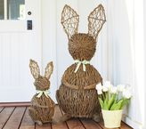 Pottery Barn Kids Vine Bunny Decor