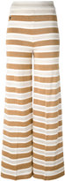 Twin-Set knitted palazzo pants - women - Cotton/Polyamide/Polyester/Viscose - S