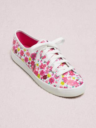 Kate Spade keds x new york kickstart floral sneakers