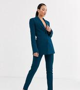 Asos DESIGN Tall pop slim suit pants in teal