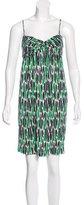 Diane von Furstenberg Candy Silk Dress