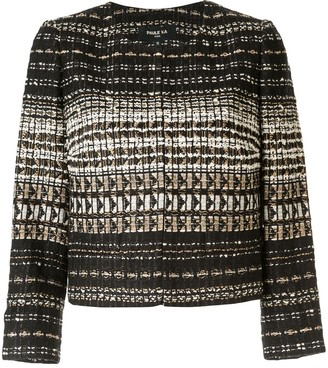 Paule Ka cropped tweed jacket