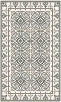 Beija Flor - Barcelona Vinyl Floor Mat - Pale Grey - Medium