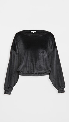Z Supply Bodhi Velour Sweatshirt