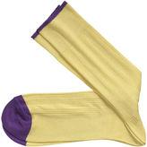Johnston & Murphy Ribbed Solid Socks
