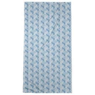 ArtVerse Patricia Geoffrey Classic Skyscrapers Pattern Beach Towel - Poly/Cotton