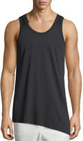 Y-3 3-Stripes Asymmetric Tank Top