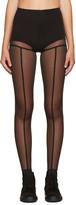 Ann Demeulemeester Black La Fille D'O Edition Leggings