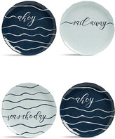 Marks and Spencer Set of 4 Nautical Side Plates