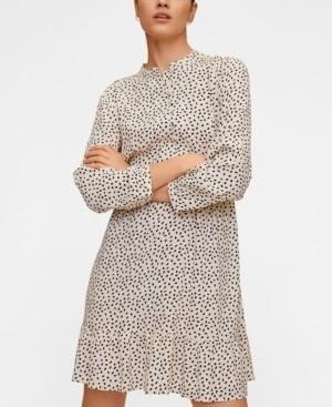 MANGO Women's Printed Short Dress