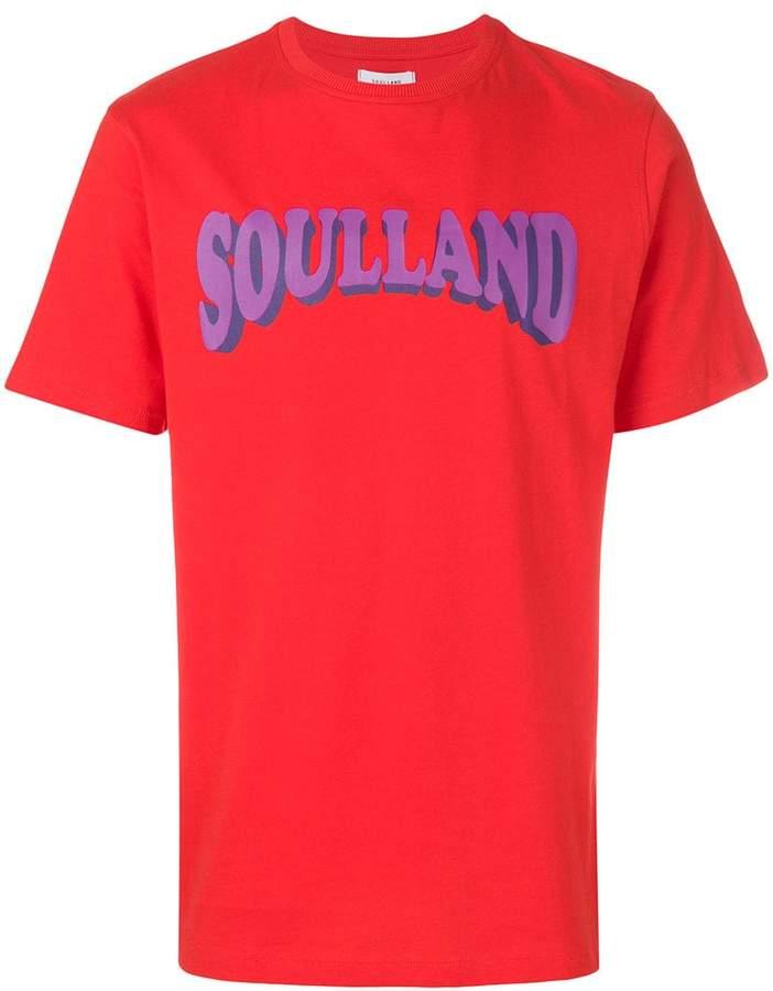 Soulland ロゴプリント Tシャツ