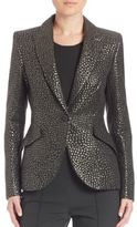 Escada Full Sleeve Fitted Blazer