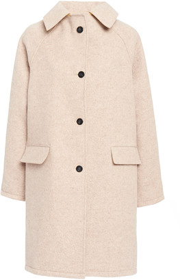 Kassl Wool and Cotton-Blend Coat