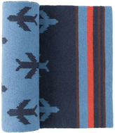 Johnston & Murphy Repeating Airplane Scarf
