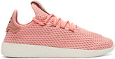Adidas Originals X Pharrell Williams Pink Tennis Hu Sneakers