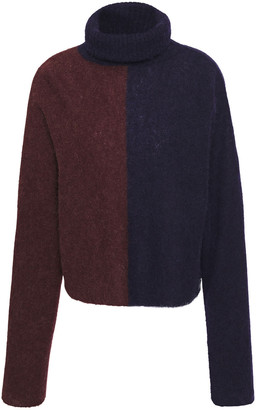 Nicholas Melange Alpaca-blend Turtleneck Sweater