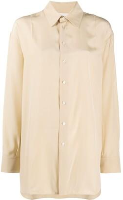 Jil Sander Long Sleeve Silk Shirt