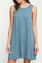 RVCA Teal Swing Dress