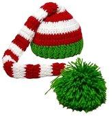 niceEshop(TM) Christmas Photopraph Prop Baby Infant Knit Crochet Pom Pom Warm Hat