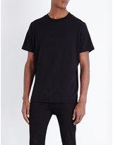 Cheap Monday Curb Crewneck Stretch-cotton T-shirt